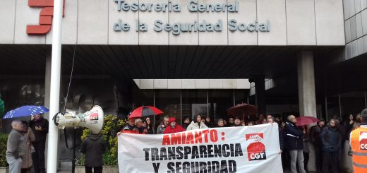 Asamblea contra el amianto TGSS